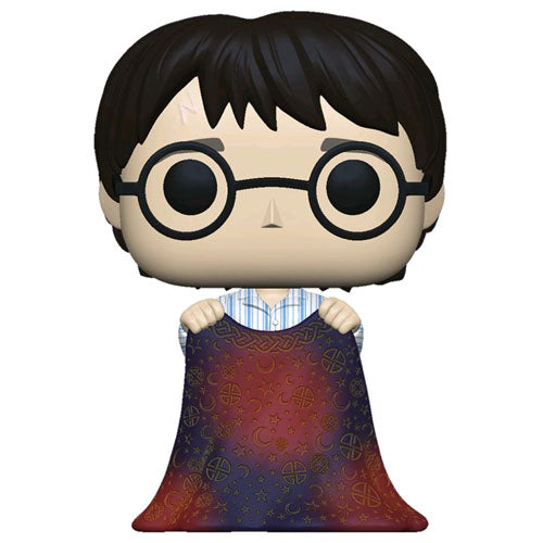 Harry Potter Harry with Invisibility Cloak Pop! Vinyl