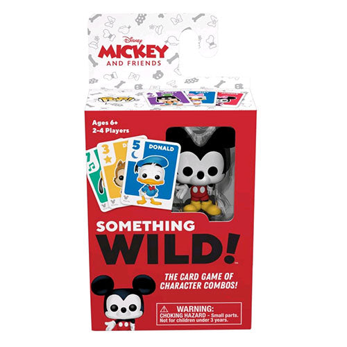 Mickey Mouse Something Wild Card Game