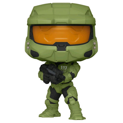 Halo Infinite Master Chief with MA40 Assault Rifle Pop! Vinyl