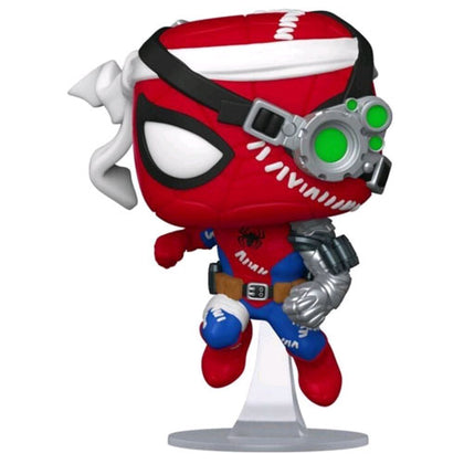Spider Man Cyborg Spider Man US Exclusive Pop!