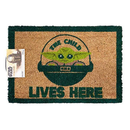 Doormat Star Wars Mandalorian The Child Lives Here