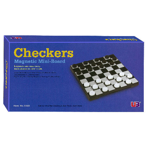 Checkers Magnetic 7 Inch