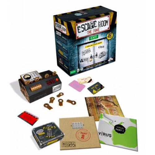 Escape Room the Game 4 Rooms Plus Chrono Decoder
