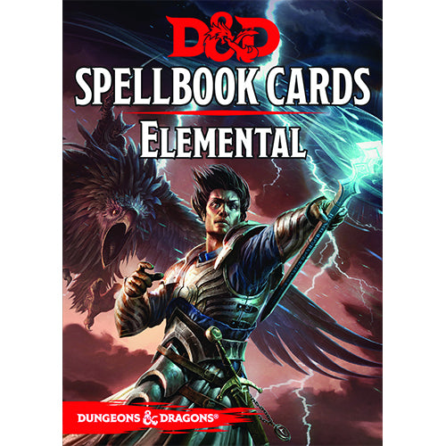 D&D Spellbook Cards Elemental Deck 2017 Edition