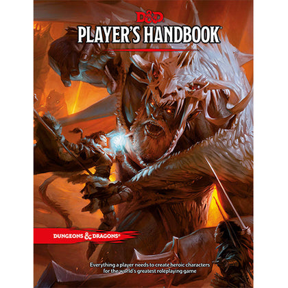 D&D 5th Ed Dungeon Players Handbook