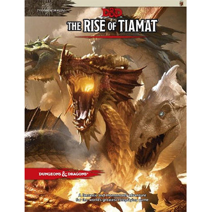 D&D Adventure The Rise of Tiamat