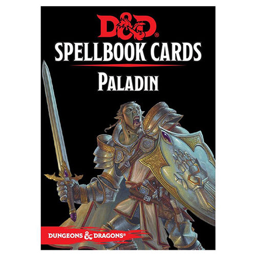 D&D Spellbook Cards Paladin Deck 2017 Edition