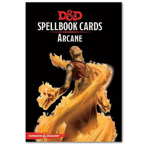 D&D Spellbook Cards Arcane Deck 2017 Edition