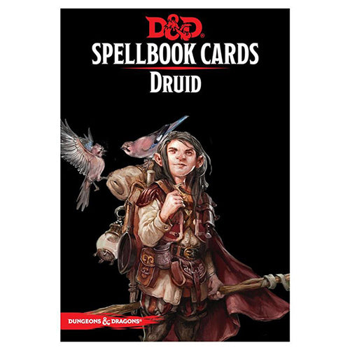 D&D Spellbook Cards Druid Deck 2017 Edition
