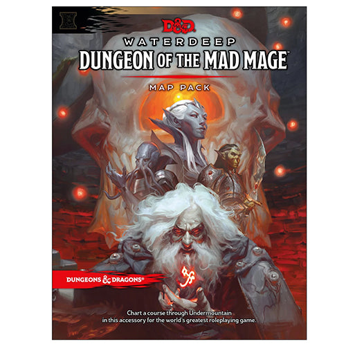 D&D Waterdeep Dungeon of the Mad Mage Pack
