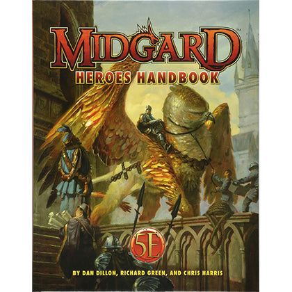D&D Midgard Heroes Handbook for 5th Edition