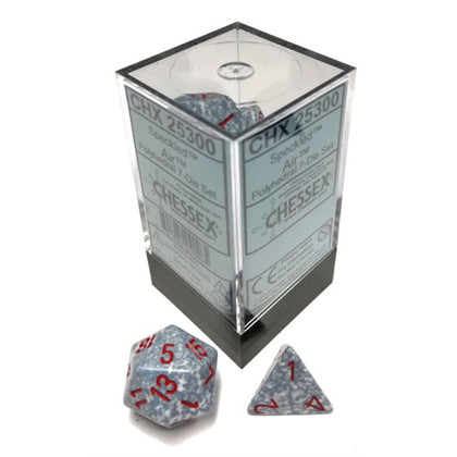 Chessex Air Speckled Polyhedral 7 Die Set