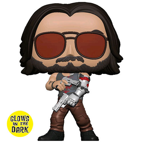 Cyberpunk 2077 Johnny Silverhand Glow US Exclusive Pop! Vinyl