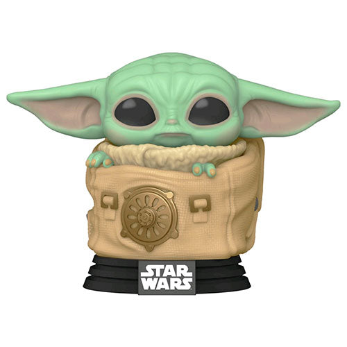 Star Wars The Mandalorian Child in Rucksack Pop! Vinyl