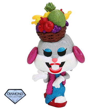 Looney Tunes Bugs Fruit Hat Diamond Glitter US Exclusive Pop! Vinyl