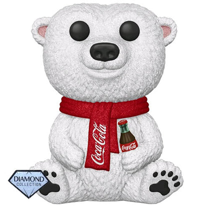 Coca Cola  Polar Bear Diamond Glitter US Exclusive Pop! Vinyl