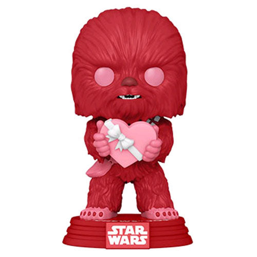 Star Wars Chewbacca Valentine Pop! Vinyl