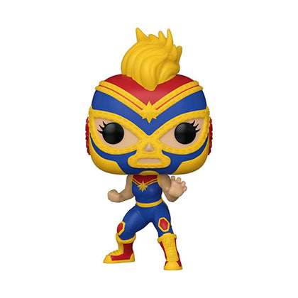Luchadore Captain Marvel Pop! Vinyl