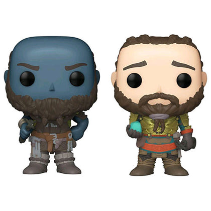 God of War Broc & Sindri US Exclusive Pop! Vinyl 2-pack