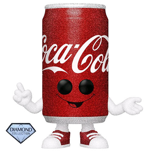Coca-Cola Coke Can Diamond Glitter US Exclusive Pop! Vinyl