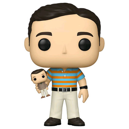 40 Year Old Virgin Andy with Oscar Goldman Doll Pop! Vinyl Figure