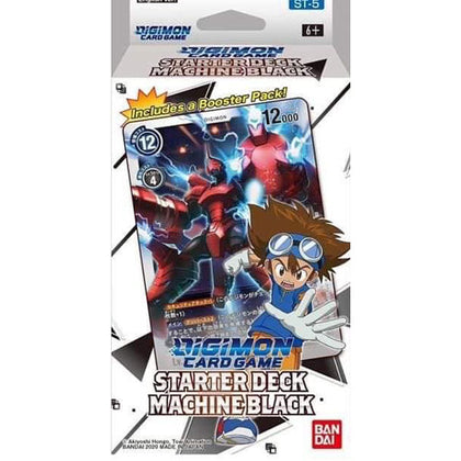 Digimon Card Game Starter Deck 05 Machine Black