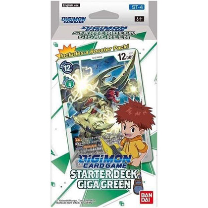 Digimon Card Game Starter Deck 04 Gaia Green