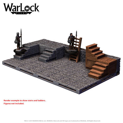 WarLock Tiles Stairs and Ladders