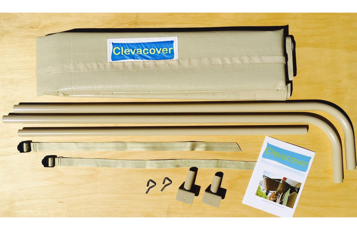 3.3m Fold Down Clothesline Cover and Kit