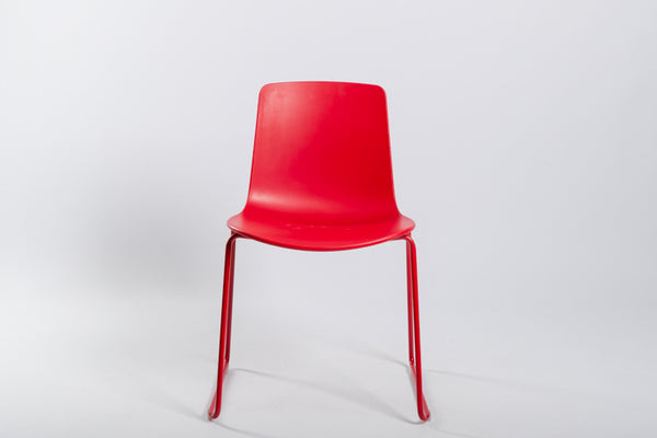 Lottus Stacking Chair - Sled Base