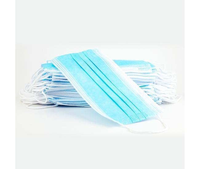 3 Layer Mask - 100 pk Disposable Face Mask - 100 units pack In stock