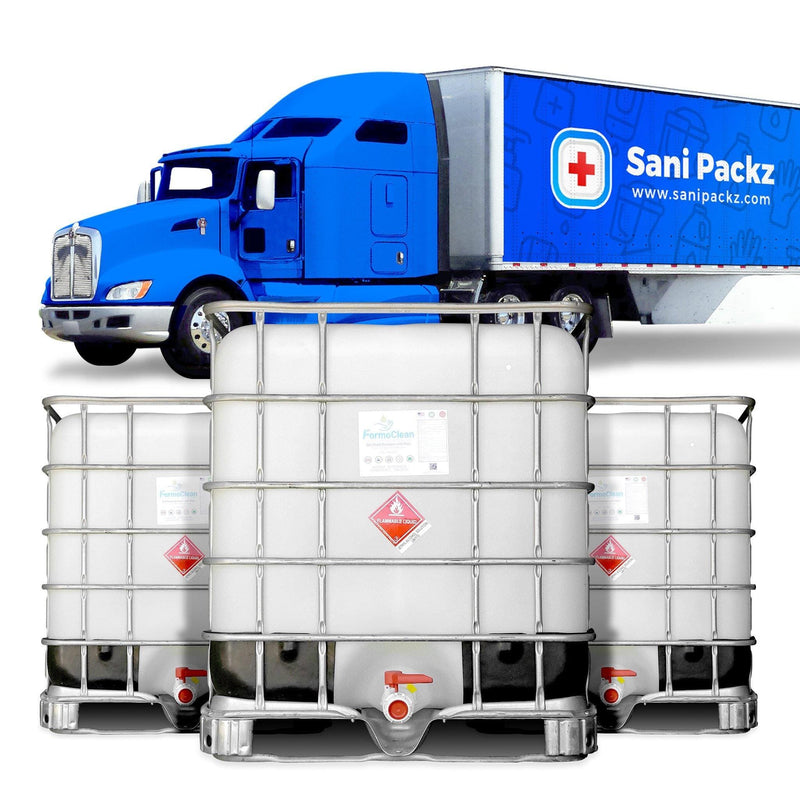 Hand Sanitizer Gel FormoClean Hand Sanitizer Gel 26 270 Gallon Totes - 1 Full Truckload - CONTACT US In stock