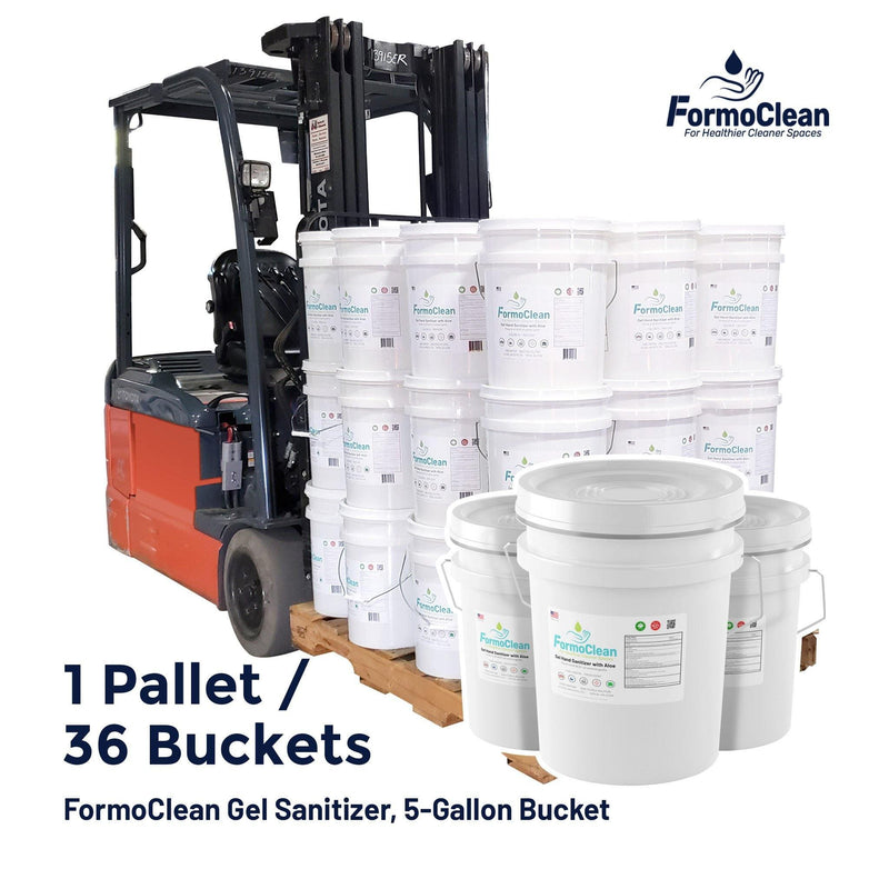 Hand Sanitizer Gel FormoClean Hand Sanitizer Gel 936 5 Gallon Bucket - 1 Full Truckload - CONTACT US In stock