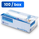 Nitrile Gloves Nitrile Exam Gloves, Powder Free, Various Sizes (100 Pack) In stock