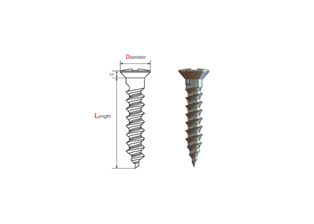 Titanium Bone Screws (AU)