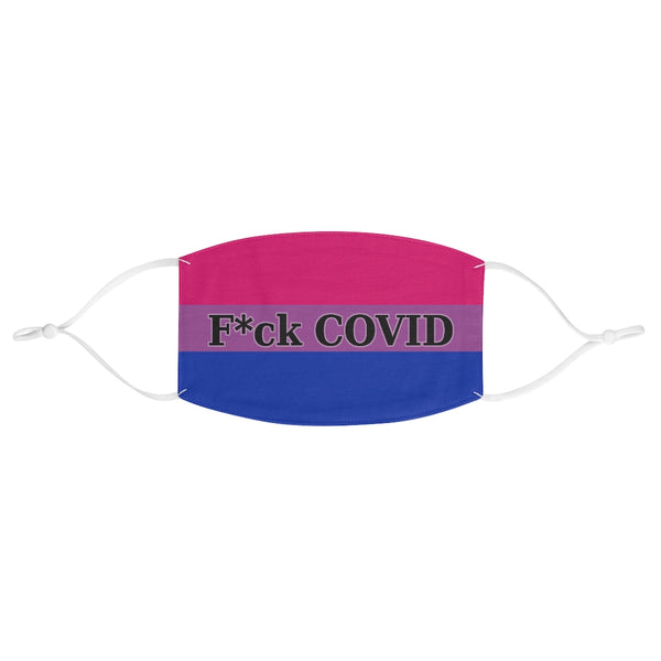 F*ck COVID - Bisexual Pride | Fabric Face Mask - Ninja Ferret