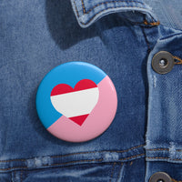 Ageplay Pride Pin Buttons - Ninja Ferret