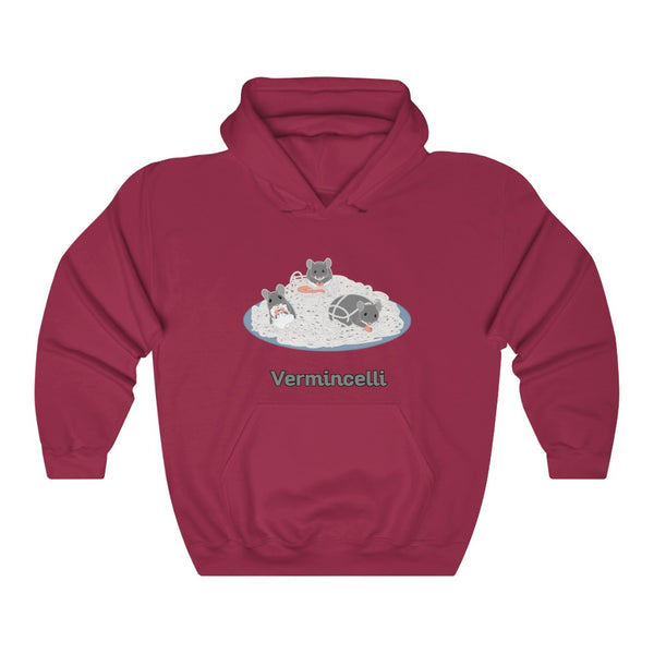 Vermincelli Unisex Heavy Blend™ Hooded Sweatshirt - Ninja Ferret