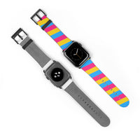 Pansexual Pride AppleWatch Band - Ninja Ferret