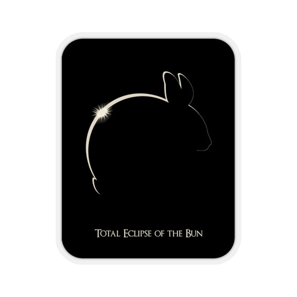 Total Eclipse of the Bun Sticker - Ninja Ferret