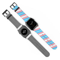 Transgender Pride AppleWatch Band - Ninja Ferret