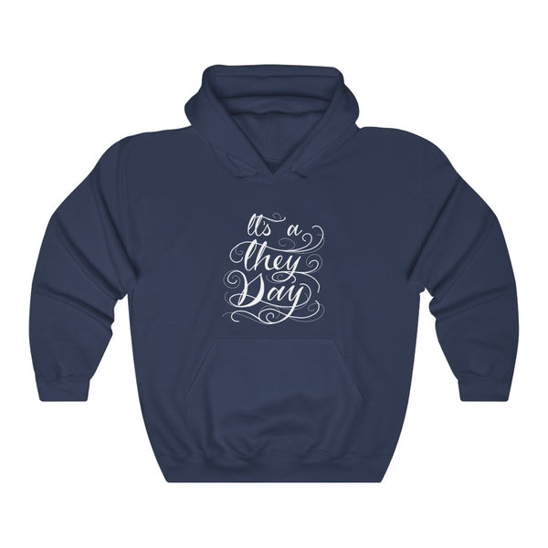 They Day - Unisex Heavy Blend™ Hooded Sweatshirt - Ninja Ferret