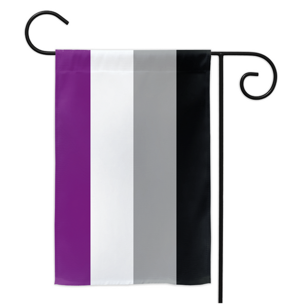 Asexual Pride Yard Flag - Ninja Ferret