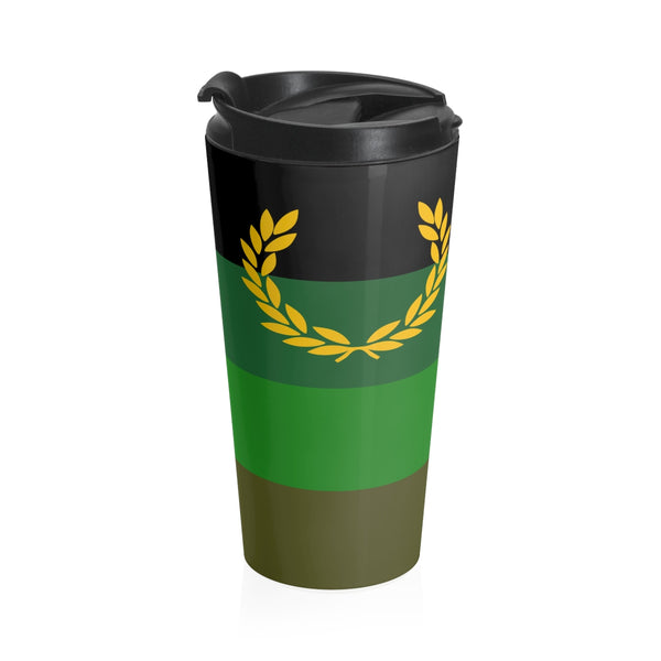 Military/Uniform Fetish - Stainless Steel Travel Mug - Ninja Ferret