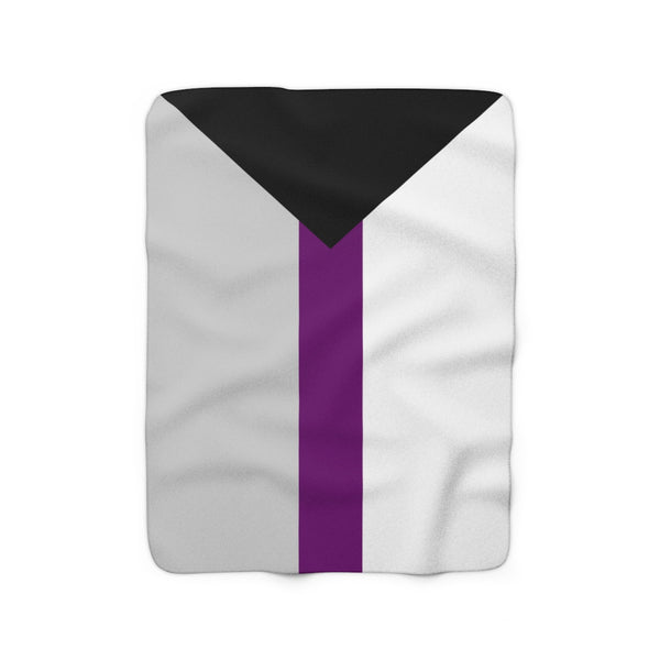 Demisexual Pride Sherpa Fleece Blanket - Ninja Ferret
