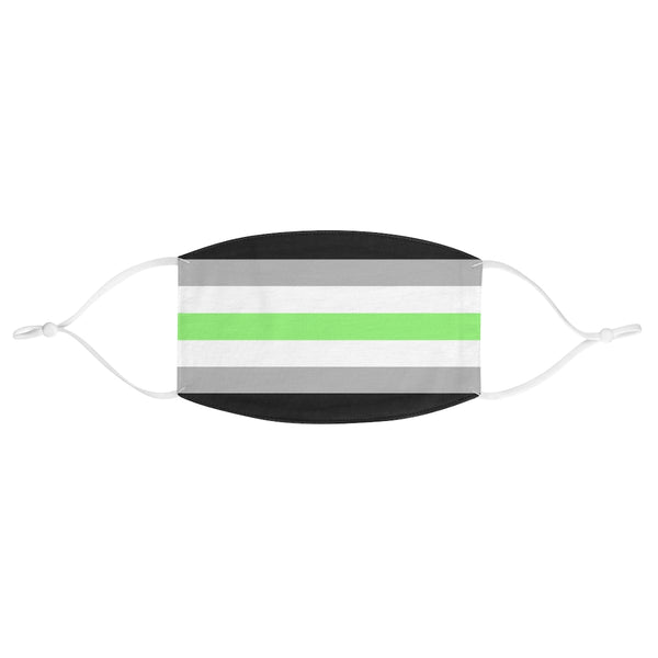 Agender Pride Fabric Face Mask - Ninja Ferret