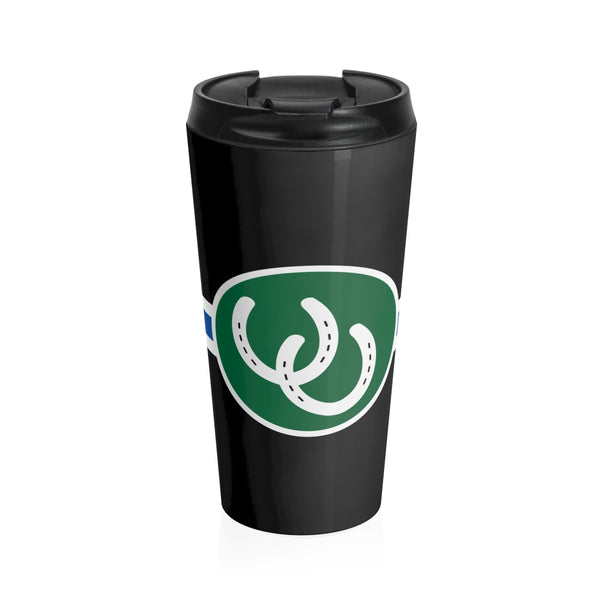 Pony Pride - Stainless Steel Travel Mug - Ninja Ferret