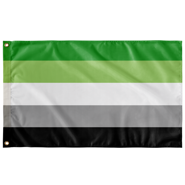 Aromantic Pride Flag - Ninja Ferret