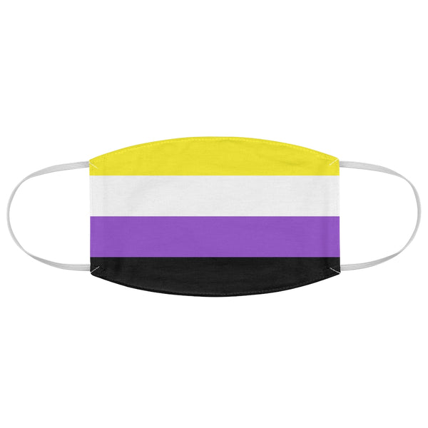 Nonbinary Pride Fabric Face Mask - Ninja Ferret