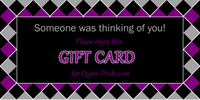 Thinking of You Argyle Gift Card - Ninja Ferret